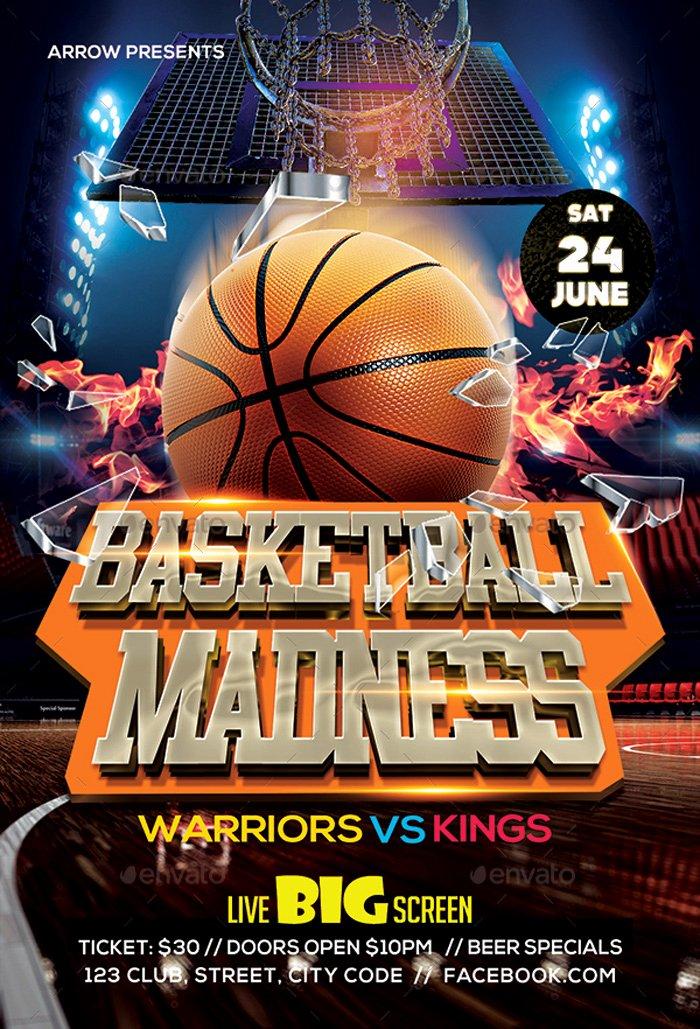 Basketball Camp Flyer Template Inspirational 36 Basketball Flyer Psd Templates Free & Premium Designyep