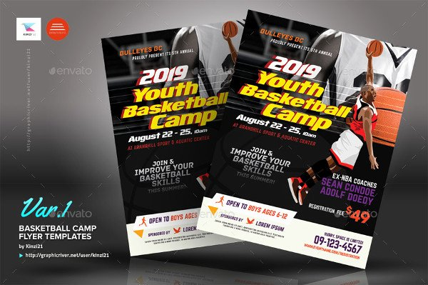 Basketball Camp Flyer Template Luxury 31 Basketball Flyer Templates Free & Premium Download