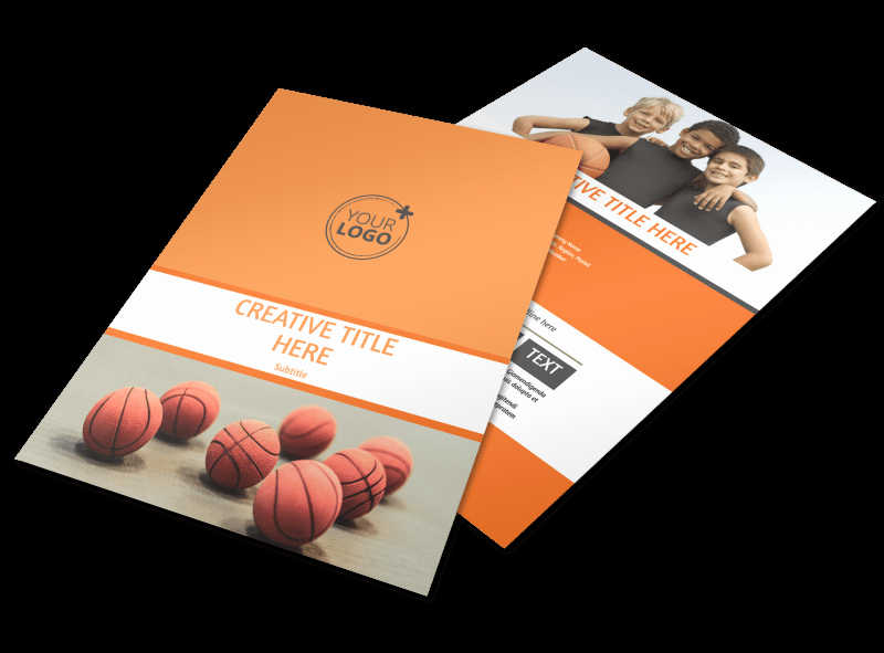 Basketball Camp Flyer Template Luxury Basketball Camp Flyer Template