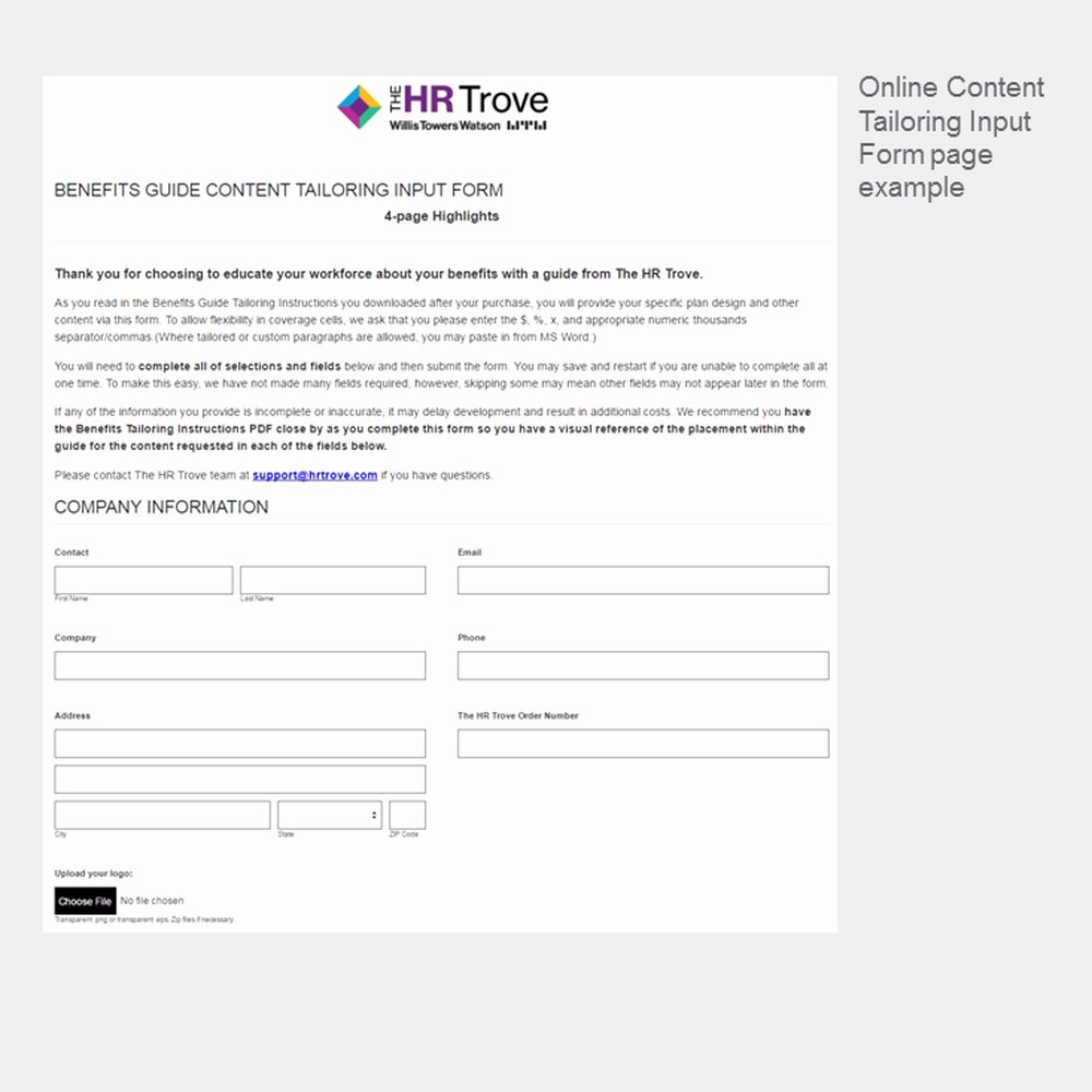 Benefit Enrollment form Template Inspirational Benefits Enrollment Guide Template
