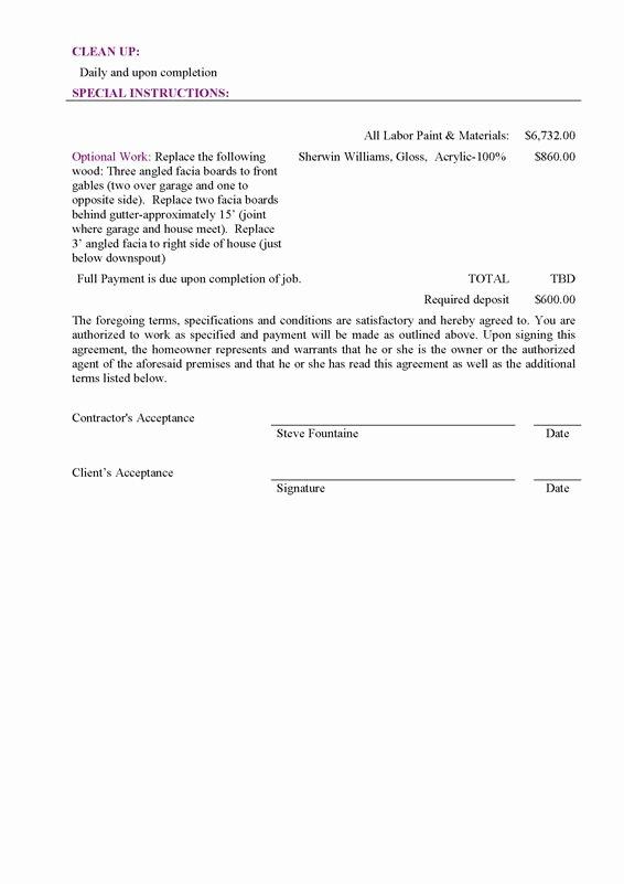 Bid Proposal Template Pdf Beautiful Sample Bid Proposal Free Printable Documents