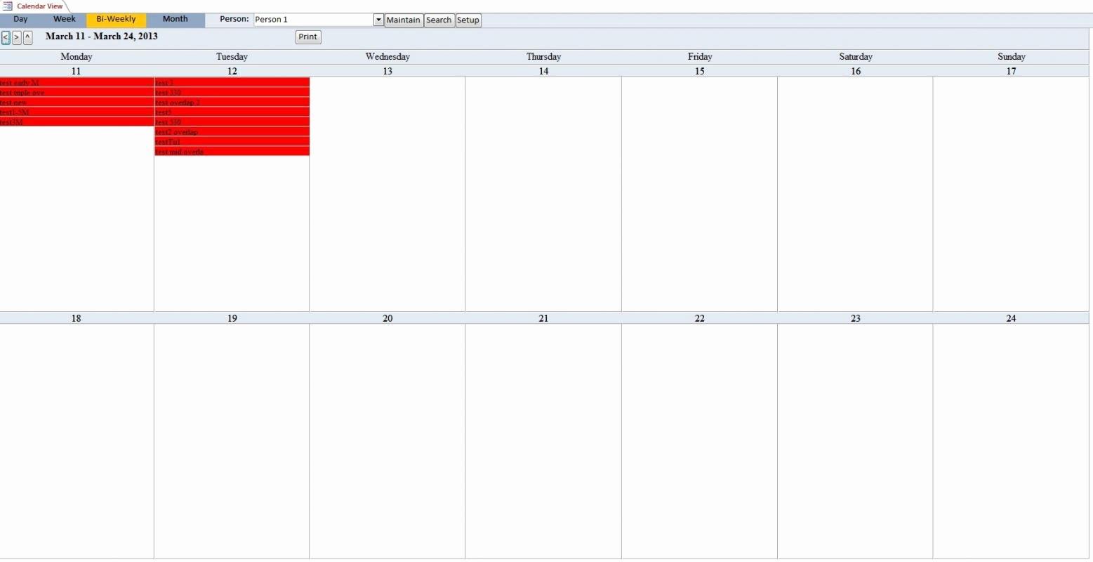 Biweekly Pay Schedule Template Elegant Bi Weekly Pay Calendar