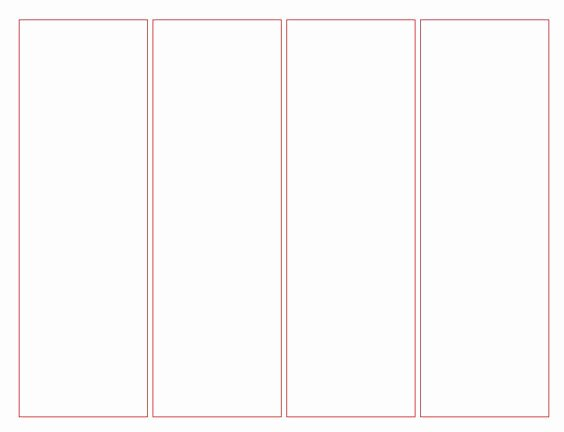 Blank Bookmark Template Word Fresh Blank Bookmark Template for Word