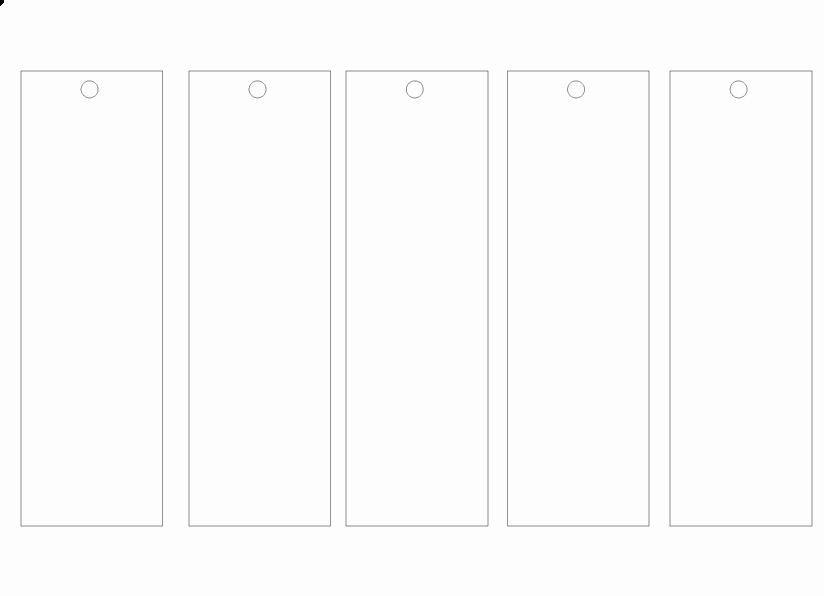 "Blank Bookmark Template Word New Search Results for ""blank Bookmark Template for Word"