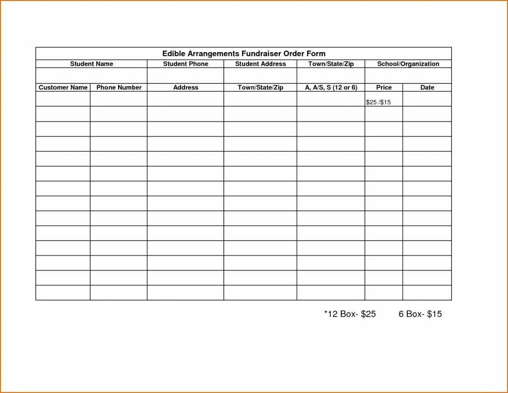 Blank Fundraiser order form Template Inspirational 008 Fundraiser order form Template Blank Ulyssesroom and