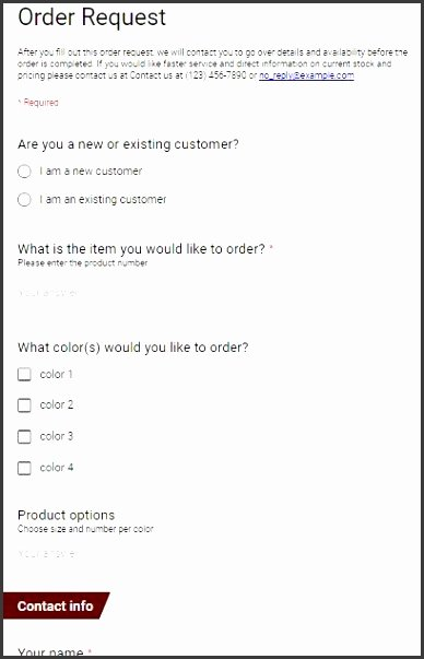 Blank Fundraiser order form Template Inspirational 9 Blank Purchase order form Template Sampletemplatess