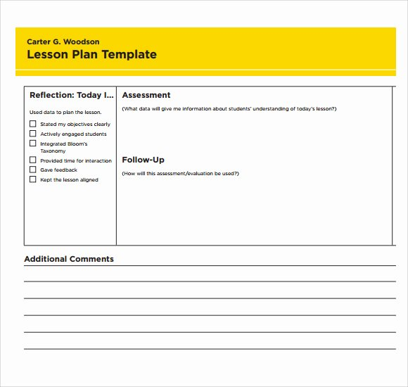 Blank Lesson Plan Template Pdf Awesome Sample Printable Lesson Plan Template 6 Free Documents