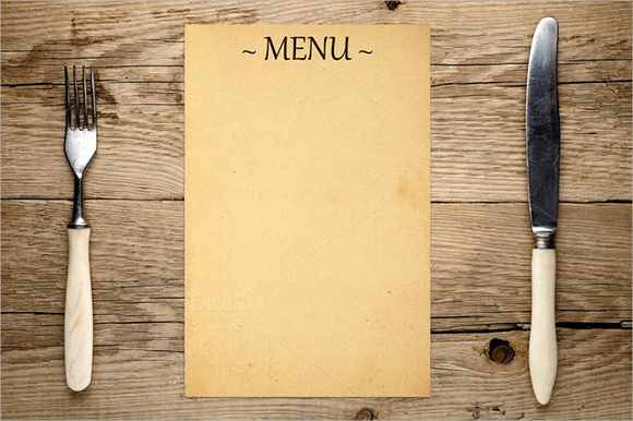 Blank Menu Template Free Fresh Free 22 Blank Menus Templates In Illustrator