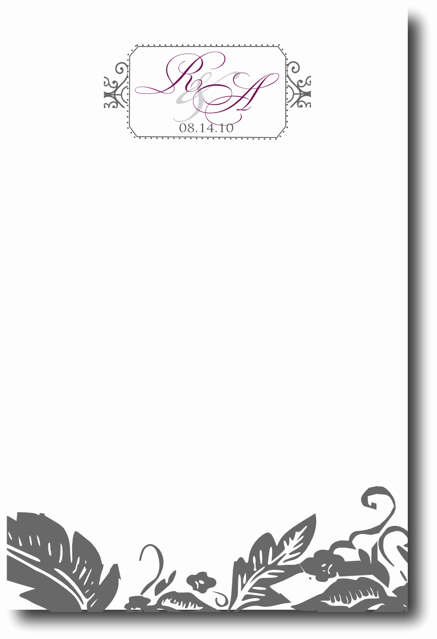 Blank Menu Template Free Unique 12 Best S Of Wedding Menu Template Blank Free