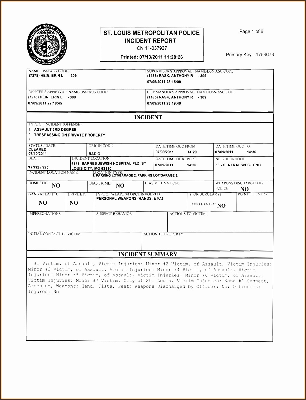 Blank Police Report Template Inspirational 6 Police Report Template Line Sampletemplatess