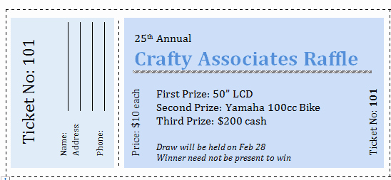 Blank Raffle Ticket Template Awesome Free Printable Raffle Tickets with Stubs Free Download