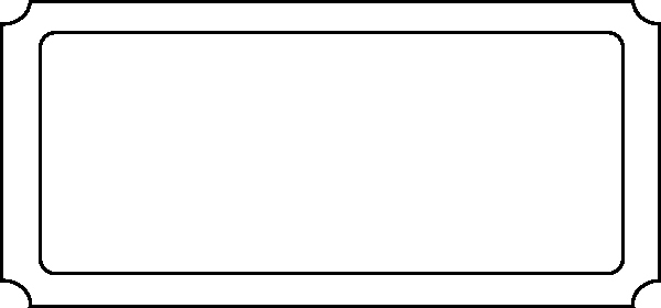 Blank Raffle Ticket Template Awesome Ticket Blank Clip Art at Clker Vector Clip Art
