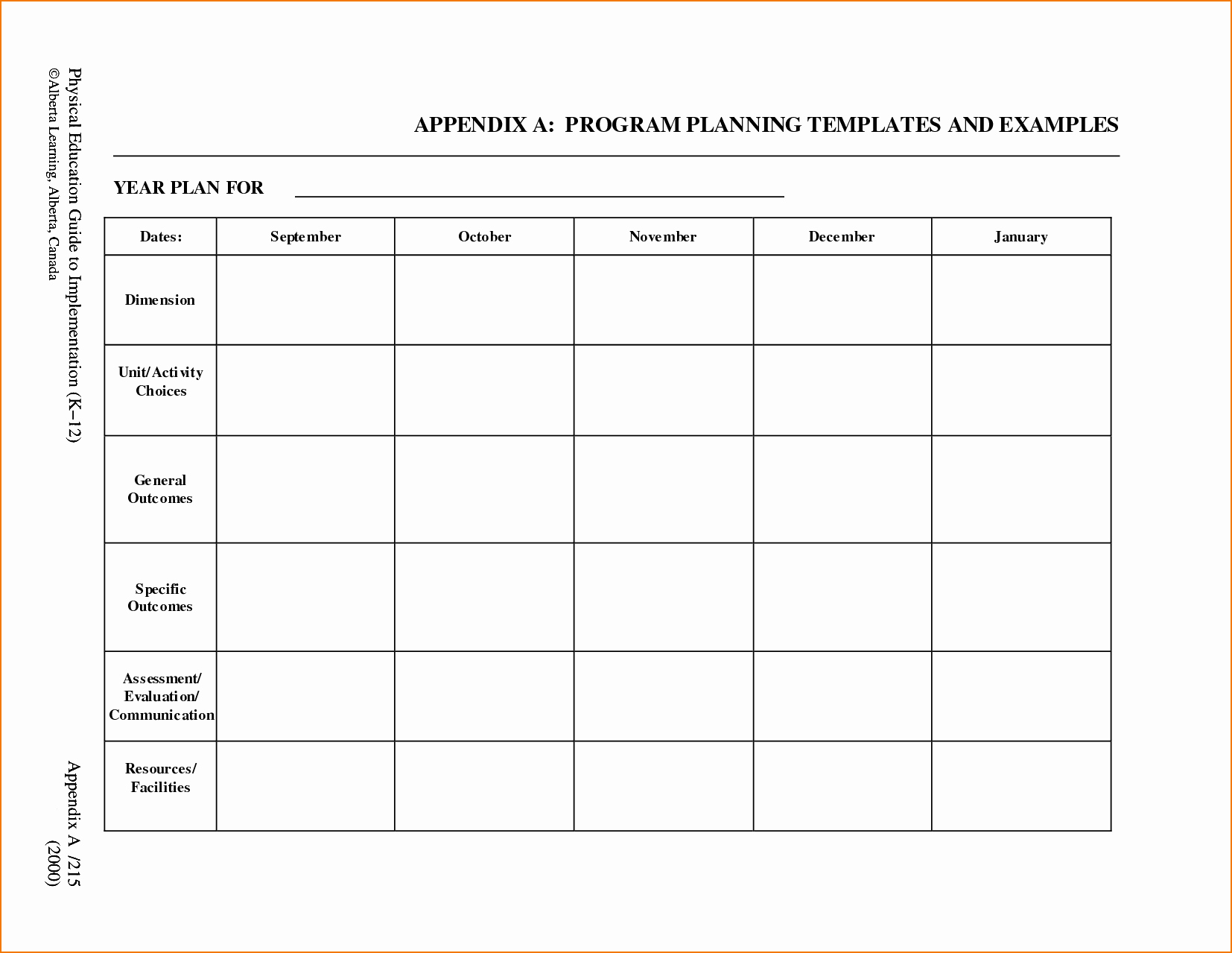 Blank toddler Lesson Plan Template Beautiful 5 Free Lesson Plan Template