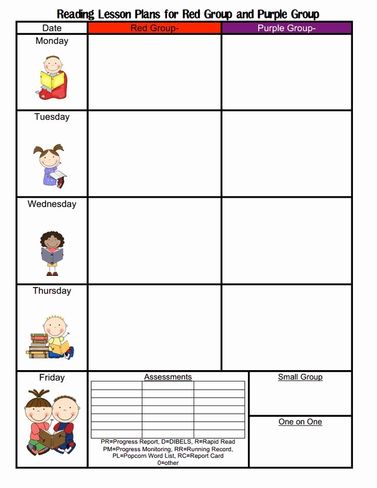 Blank toddler Lesson Plan Template Inspirational Best S Of Blank Lesson Plan Template for Preschool