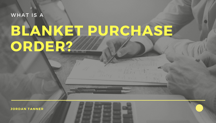 Blanket Purchase order Template Elegant What is A Blanket Purchase order