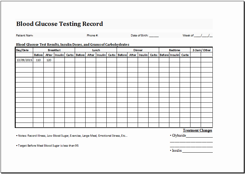 Blood Sugar Log Template Unique Pin by Microsoft Fice Templates On Microsoft Templates