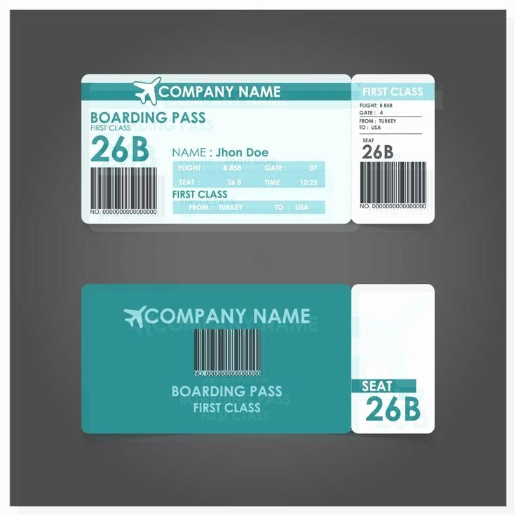 Boarding Pass Template Photoshop Fresh Best 25 Boarding Pass Template Ideas On Pinterest