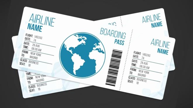 Boarding Pass Template Photoshop Lovely 27 Best Airline Boarding Pass Ticket Template Examples
