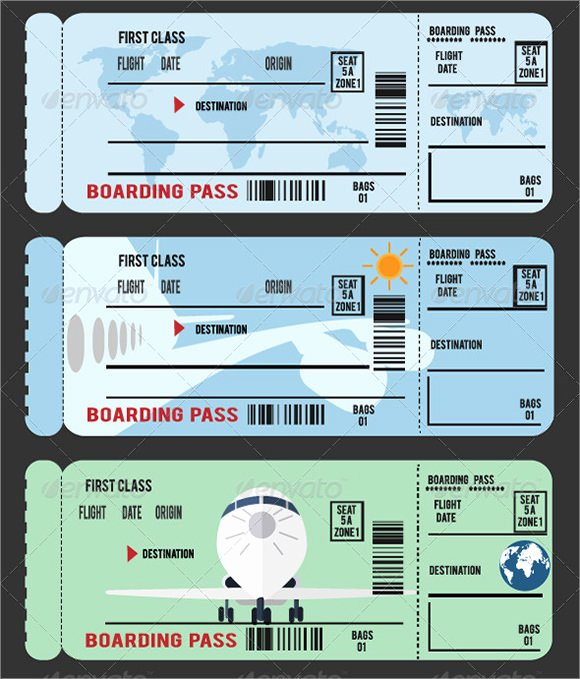 Boarding Pass Template Photoshop Lovely Free 15 Boarding Pass Samples In Pdf Psd Vector