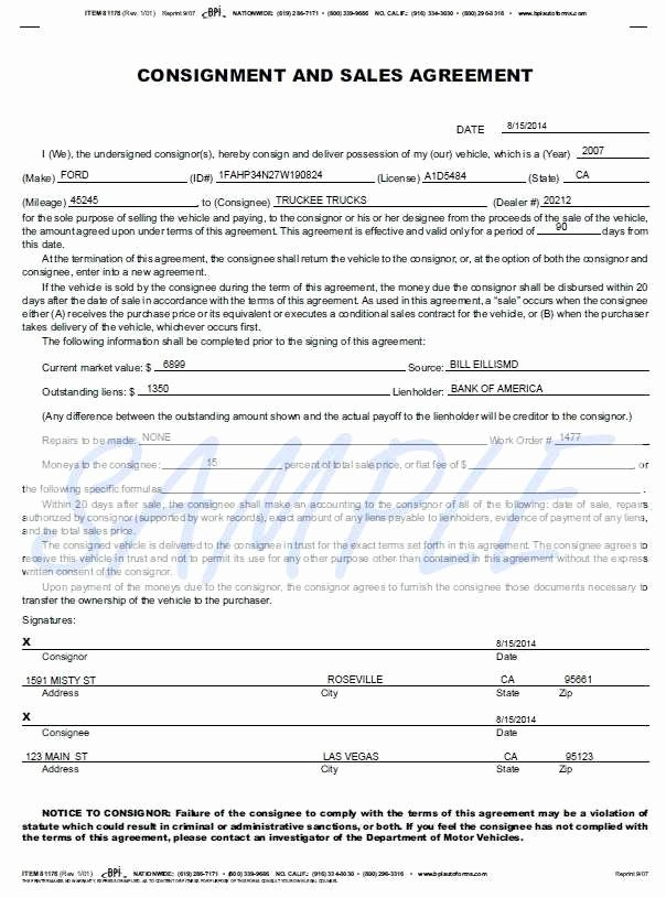 Boat Purchase Agreement Template Awesome Free Rv Purchase Agreement form Simple Automobile Sales