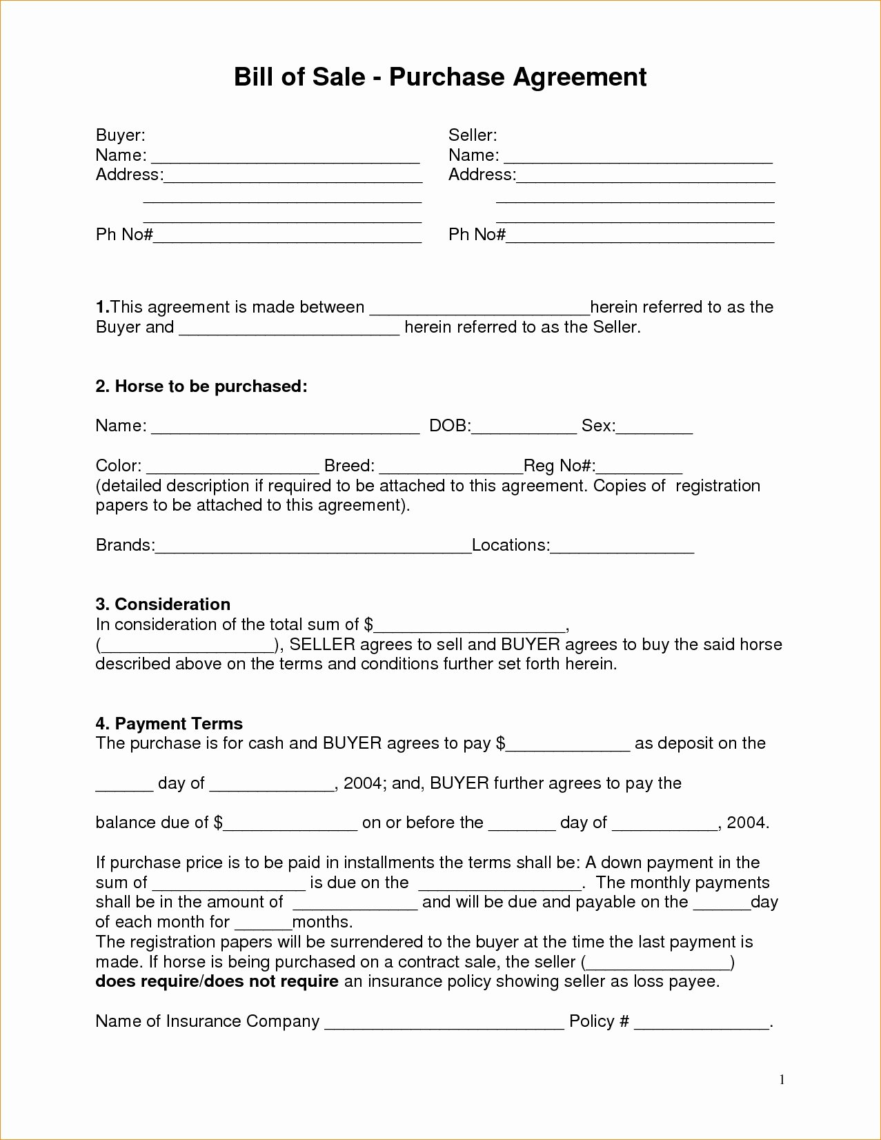 Boat Purchase Agreement Template Fresh Marine Purchase and Sale Agreement Useful Boat Purchase