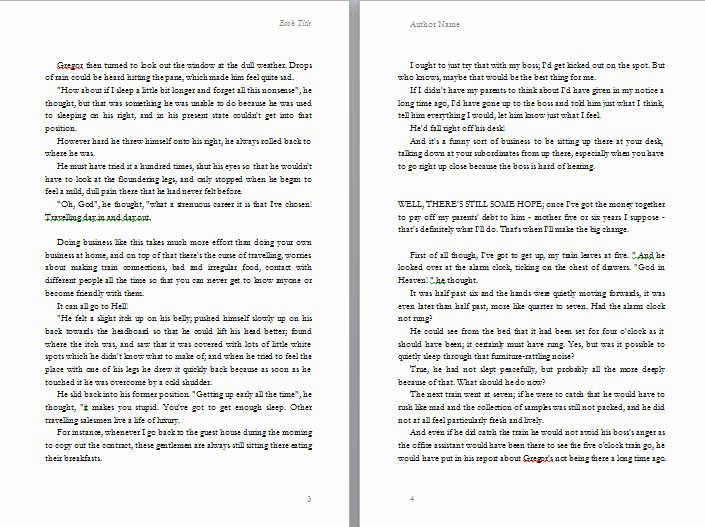Book Outline Template Microsoft Word Elegant Free Book Design Templates and Tutorials for formatting In