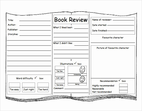 Book Review Template Pdf Best Of Sample Book Review Template 10 Free Documents In Pdf Word