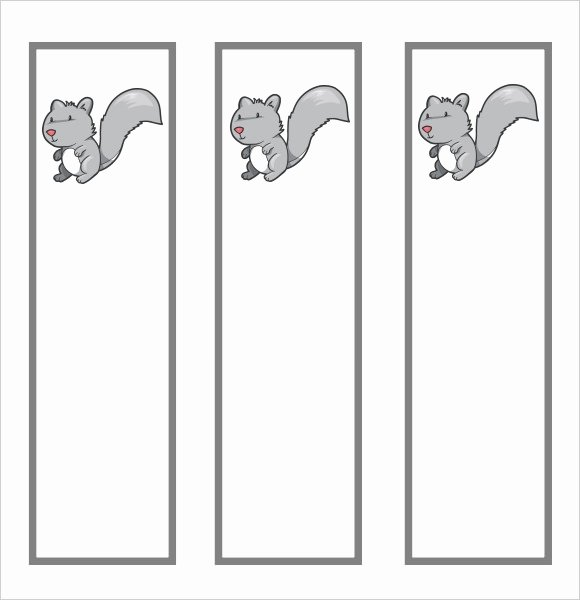 Bookmark Template for Word Best Of Sample Blank Bookmark 6 Documents In Pdf Word