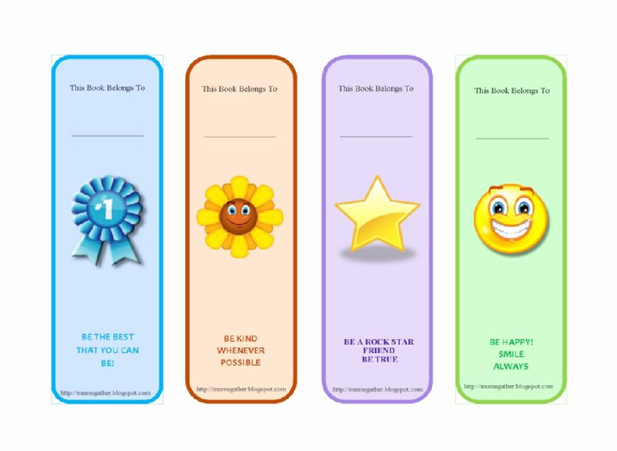 Bookmark Template for Word Unique 50 Free Printable Bookmark Templates Template Lab