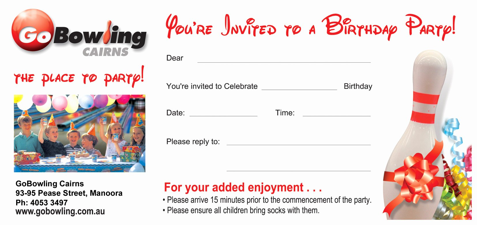 Bowling Party Invitation Template Inspirational Bowling Party Invitations Templates Ideas Bowling Party