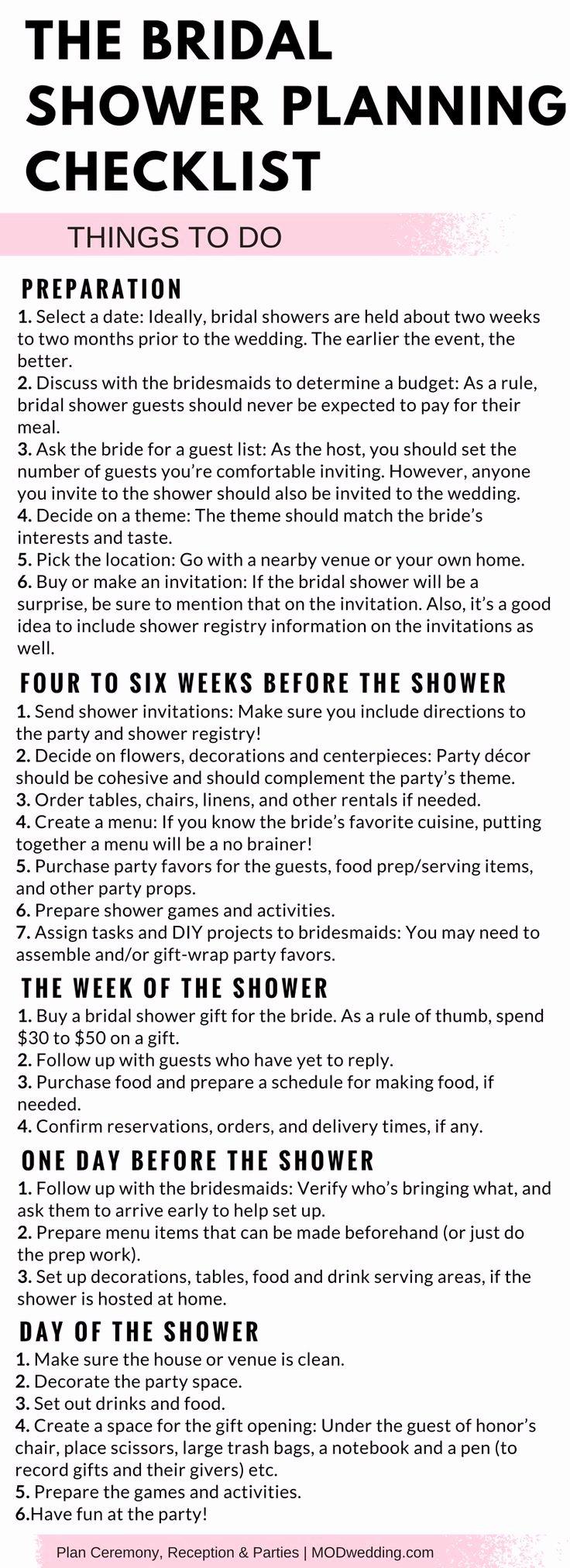 Bridal Shower Checklist Template New Best 25 event Checklist Ideas On Pinterest
