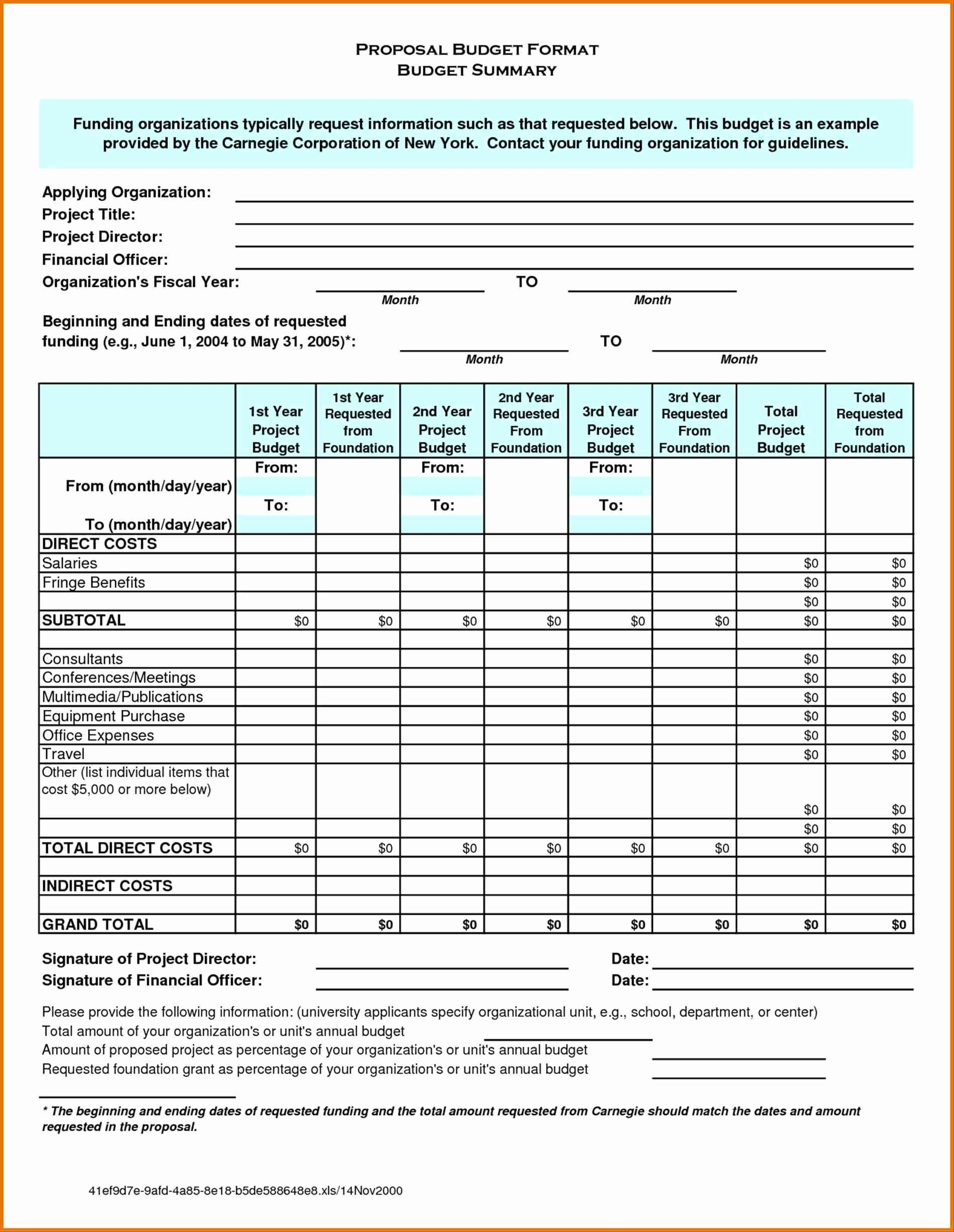 Budget Proposal Template Excel Beautiful Project Bud Plan Template Excel Good Design 28