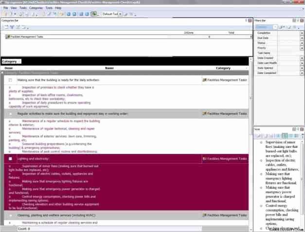 Building Maintenance Log Template Unique 7 Facility Maintenance Checklist Templates Excel Templates