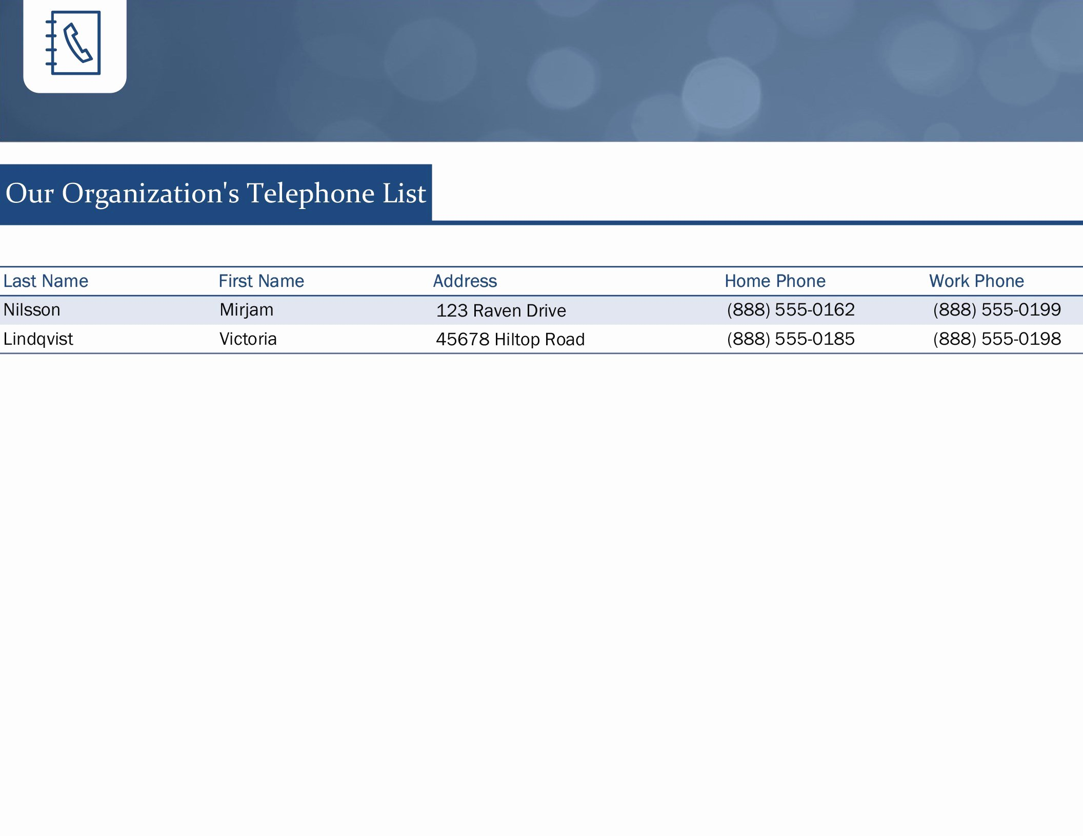 Business Contact List Template Unique Small Business Contact List