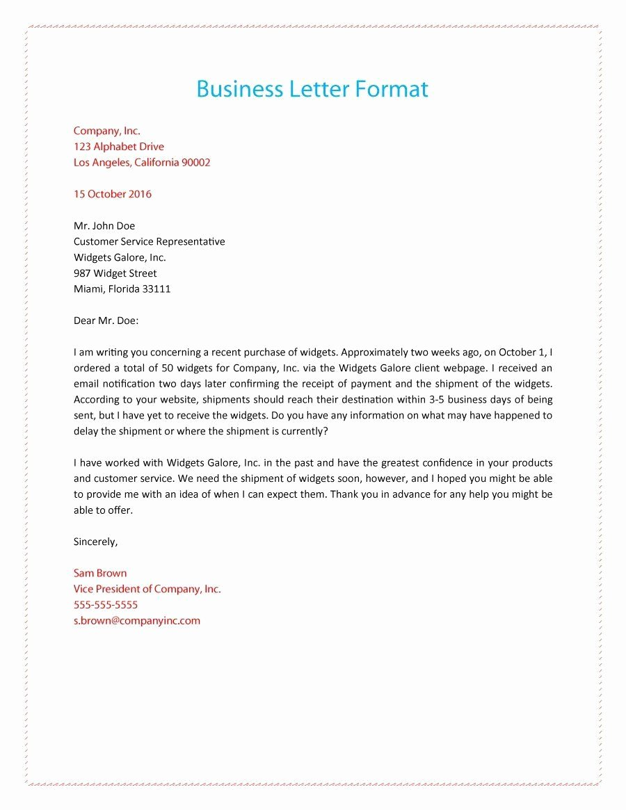 Business Cover Letter Template Best Of formal Business Letter 01 Business Letter