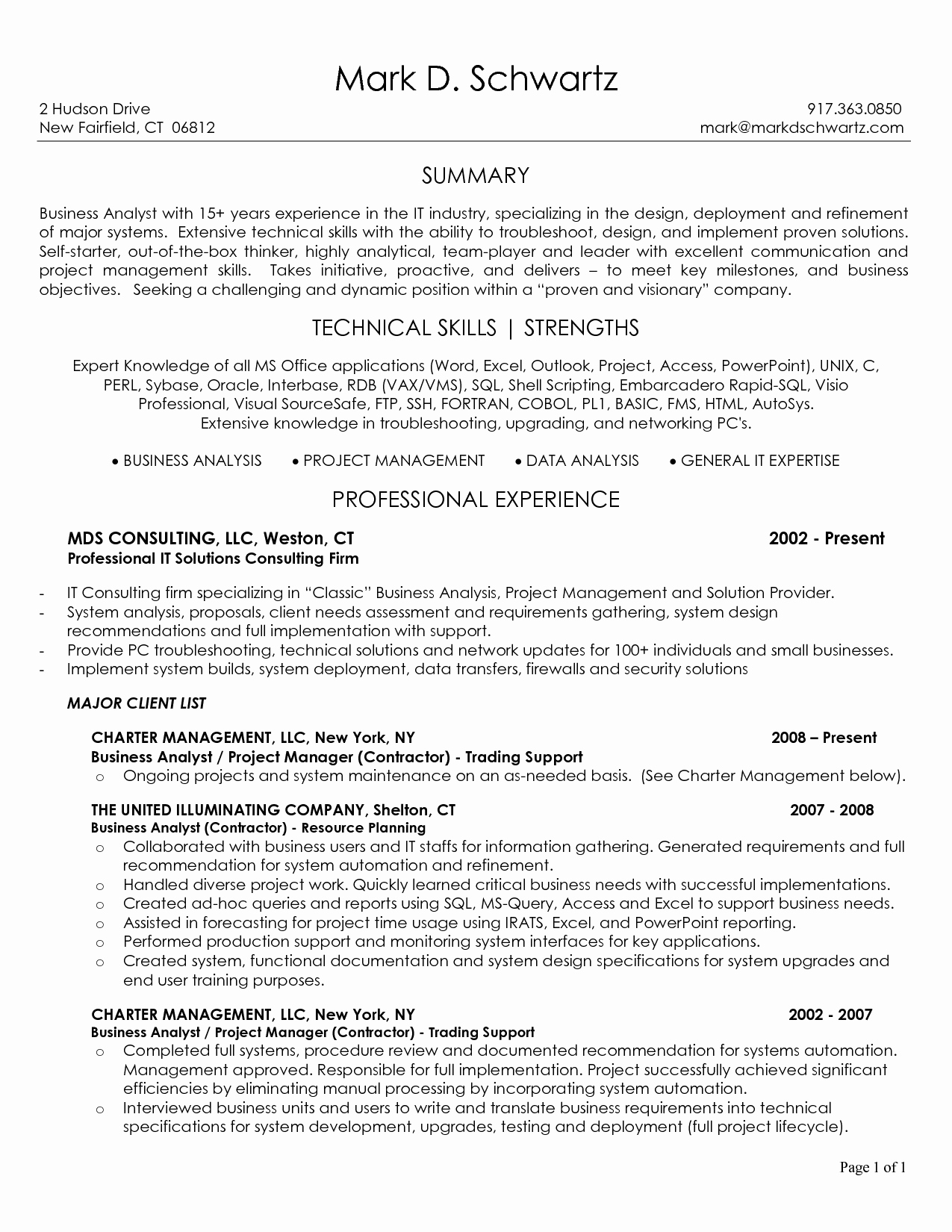 Business Cover Letter Template Inspirational Business Analyst Resume Sample Best Template Junior