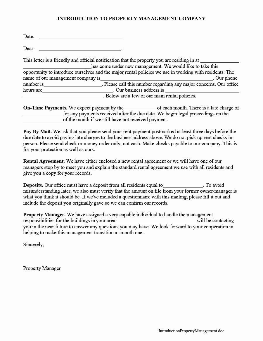 Business Introduction Letter Template Fresh 34 Free Business Introduction Letters Pdf & Ms Word
