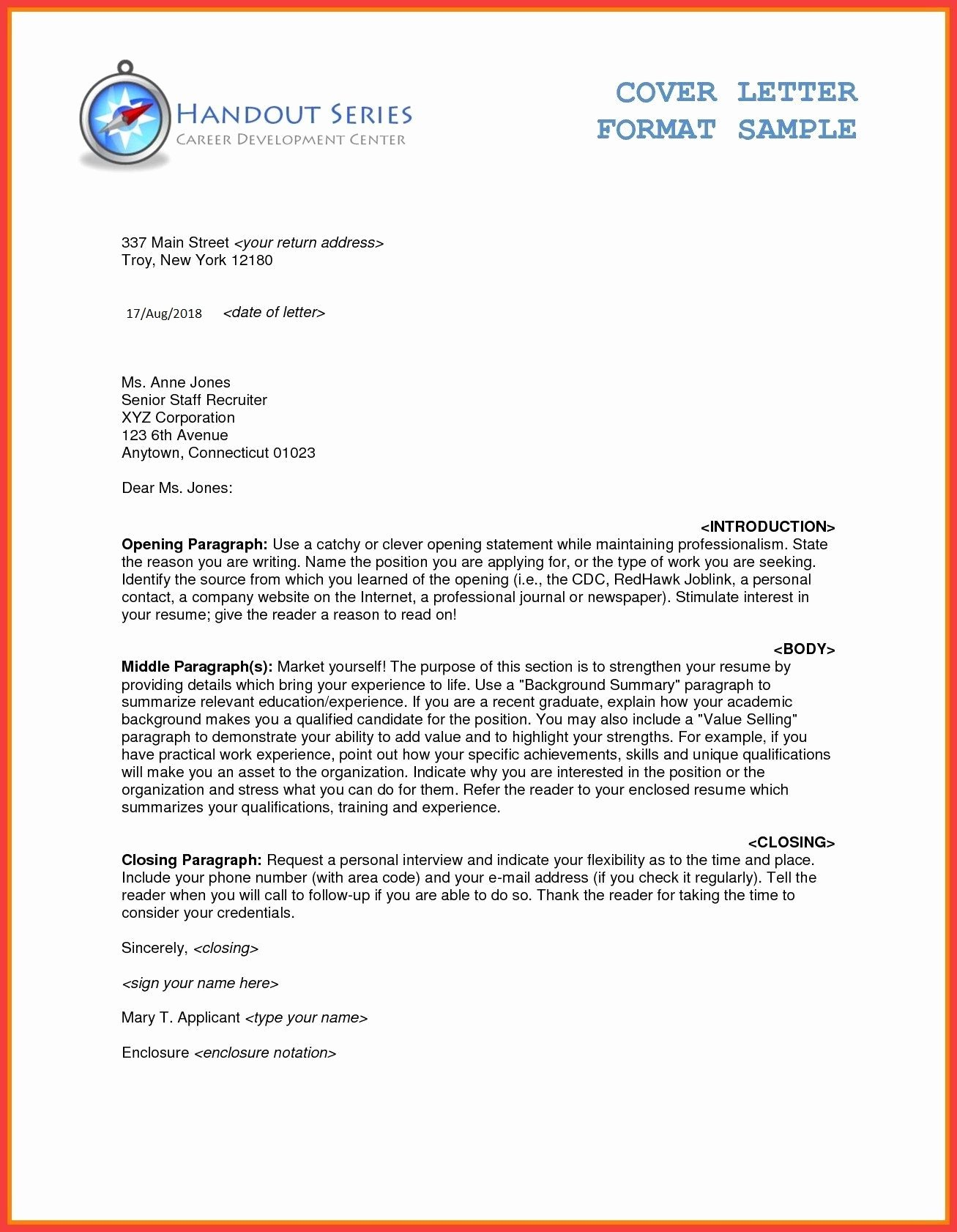 Business Letter Template Word Elegant Business Letter format In Ms Word formalbusinessletterms