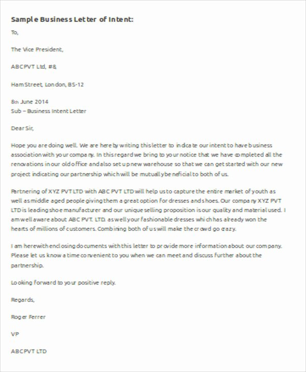 Business Letter Template Word Luxury Sample Business Letter Template Word 7 Examples In Word
