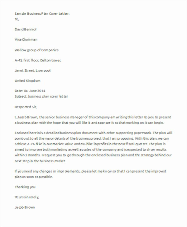 Business Letter Template Word Unique Sample Business Letter Template Word 7 Examples In Word
