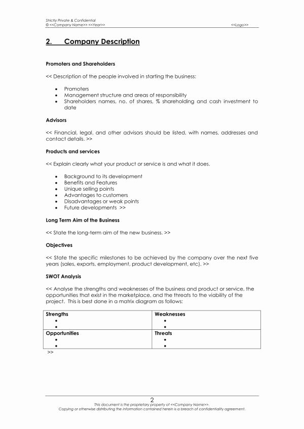 Business Operational Plan Template Lovely Free 14 Business Operational Plan Samples & Templates In