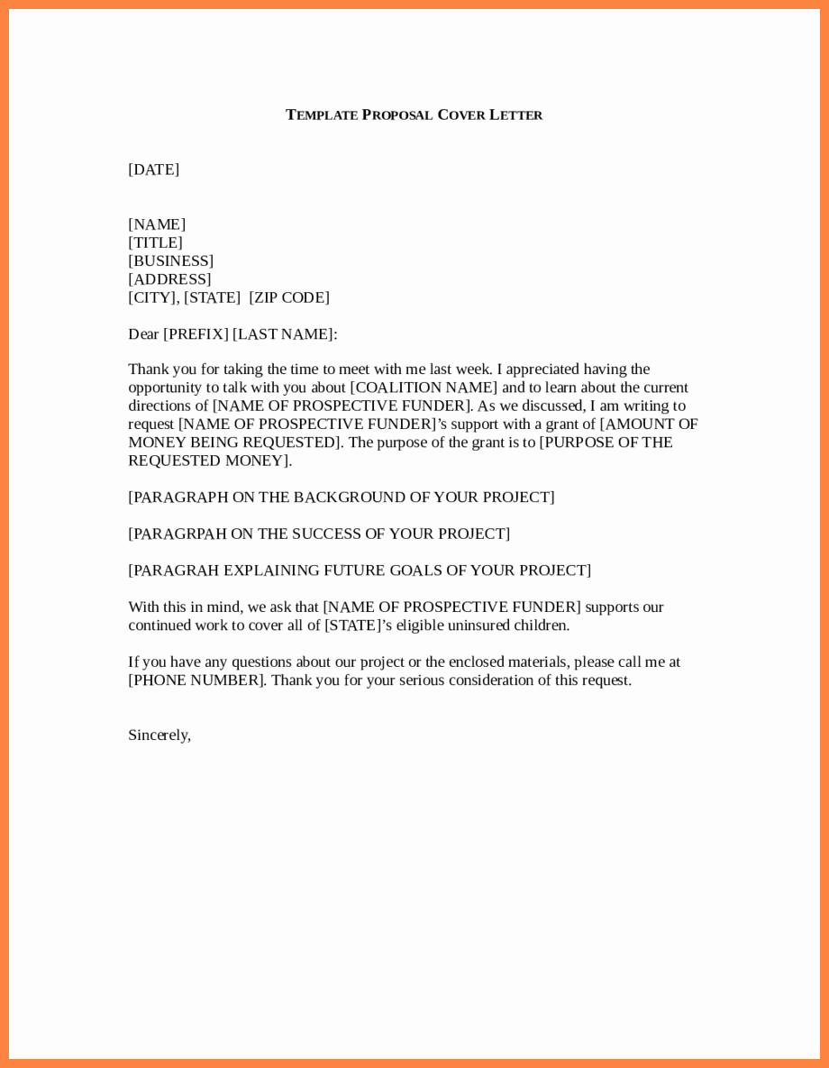 Business Proposal Letter Template Elegant 9 Business Proposal Letter