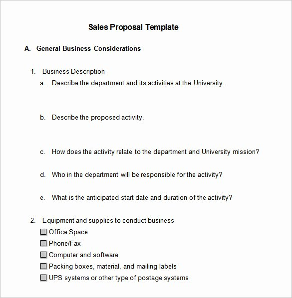 Business Proposal Template Doc Beautiful 21 Sales Proposal Templates Doc Excel Pdf Ppt