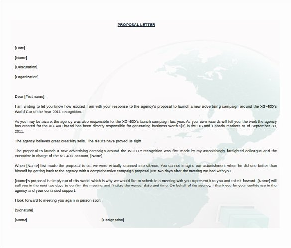 Business Proposal Template Doc Lovely 31 Proposal Templates Doc Pdf