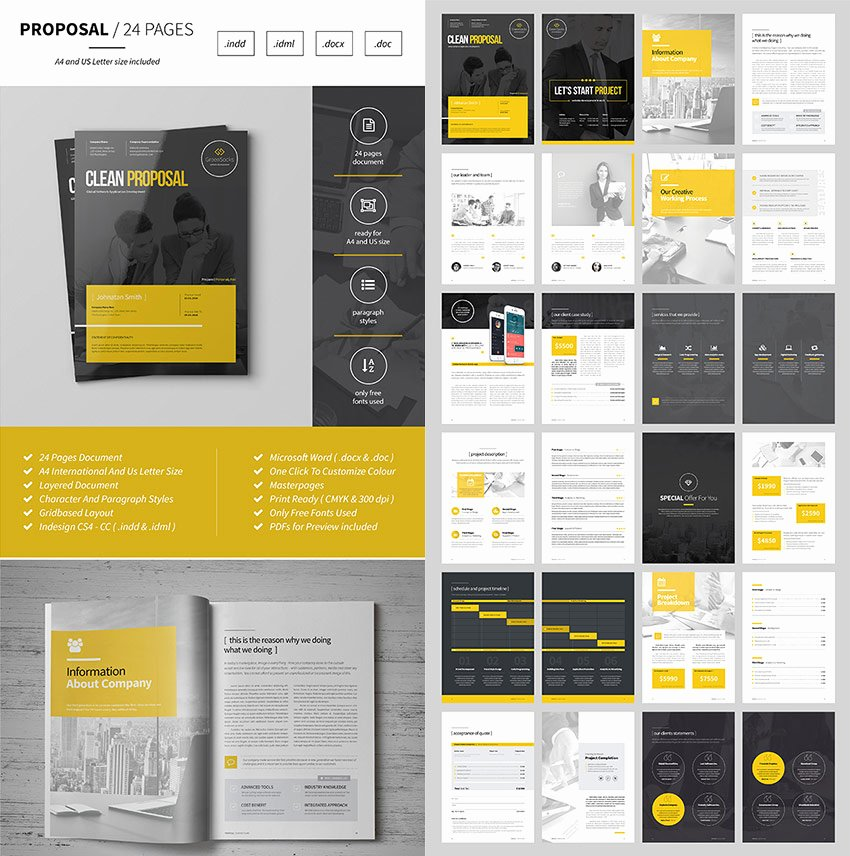 Business Proposal Template Doc Luxury 15 Best Business Proposal Templates for New Client Projects