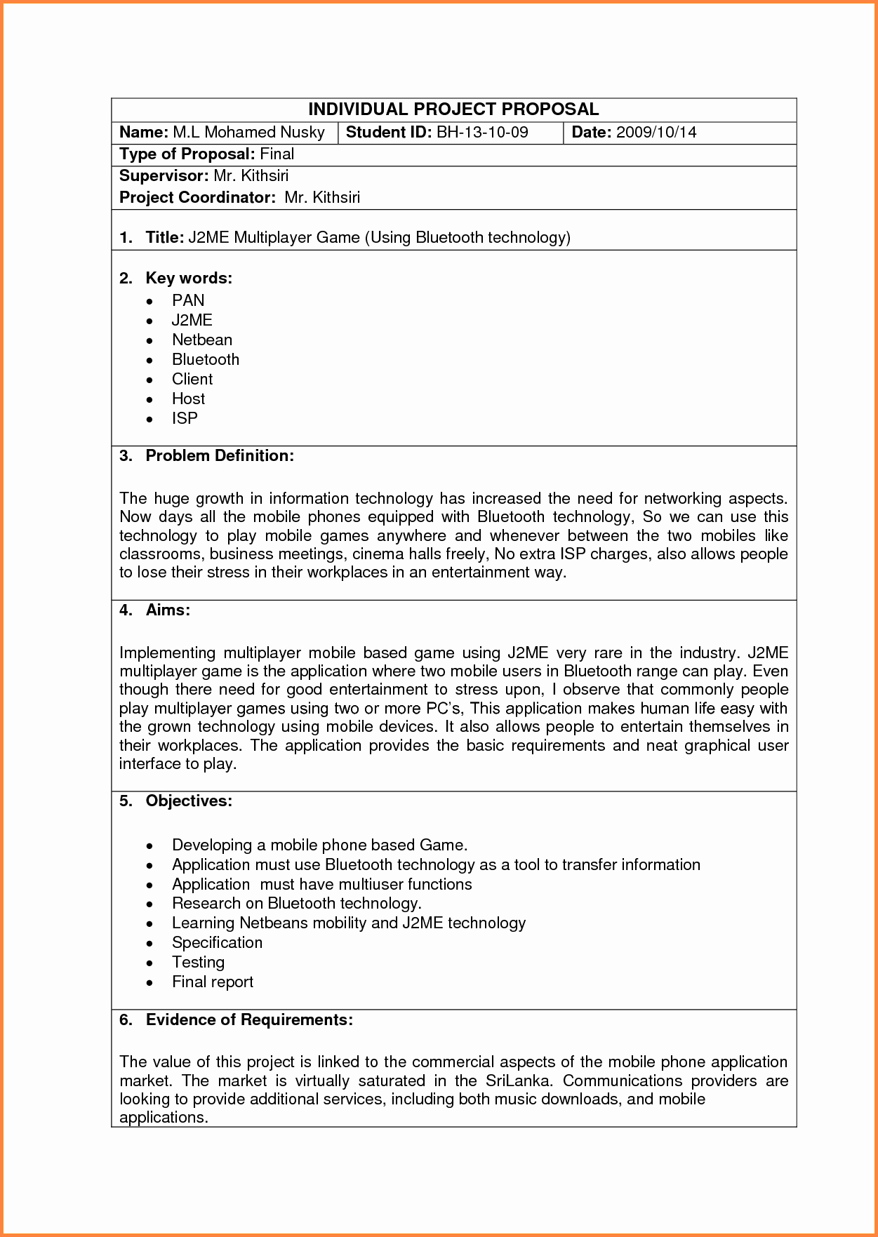 Business Proposal Template Doc New 6 Information Technology Business Proposal Sample