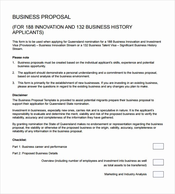 Business Proposal Template Doc New Sample Business Proposal 24 Documents In Pdf Word