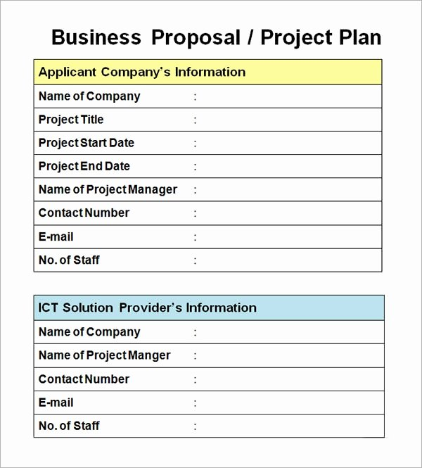 Business Proposal Template Pdf Awesome Free 30 Business Proposal Templates In Google Docs