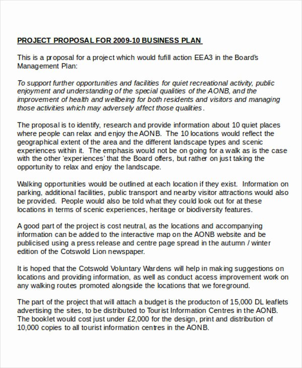 Business Proposal Template Pdf Best Of 7 Business Project Proposal Templates Word Pdf Pages