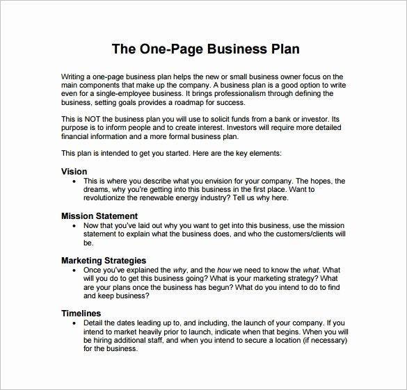 Business Proposal Template Pdf Fresh 29 Business Plan Templates Sample Word Google Docs